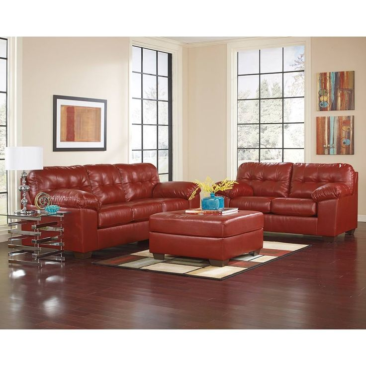 Ashley Furniture Leather Living Room Sets · Ledersofa SetLeder  MöbelWohnzimmereinrichtungWohnzimmer ...