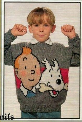 TINTIN sweater - want!!