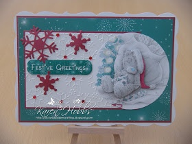 Pickwick Papercrafting: Tatty Teddy Christmas Cards