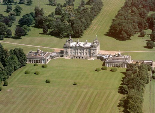 Houghton Hall, Norfolk, England. Home of Britain's first Prime Minister,Sir Robert Walpole