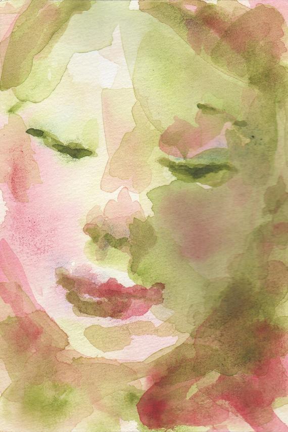 Easy Watercolor Portrait Tutorial Watercolor Portrait Tutorial
