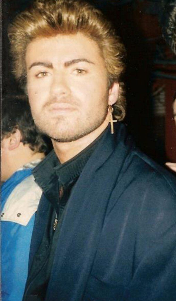 George and his earring   George Michael   Pinterest ...