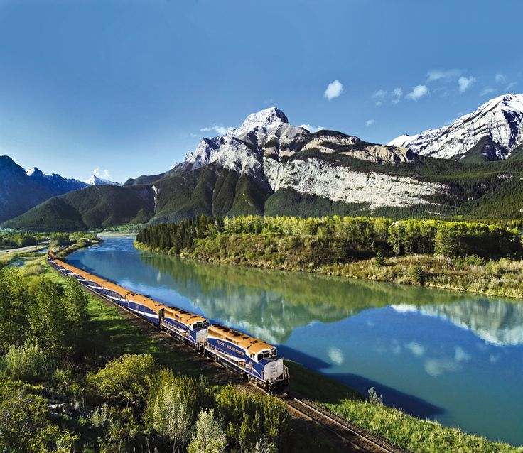 Travel by rail from Vancouver to Toronto on the legendary Rocky Mountaineer to Banff! Fantastic bucket list opportunity.