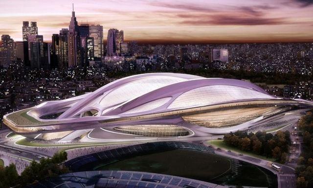 Tokyo 2020 Olympics will be placed around Zaha Hadid's stadium (1)