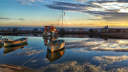 Sea_and_sky Reflections Photo by Mixail Kapetanios — National Geographic Your Shot-Palaio Faliro,Attica,Greece