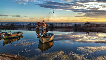 Sea_and_sky Reflections Photo by Mixail Kapetanios — National Geographic Your Shot-Palaio Faliro,Attica,Greece