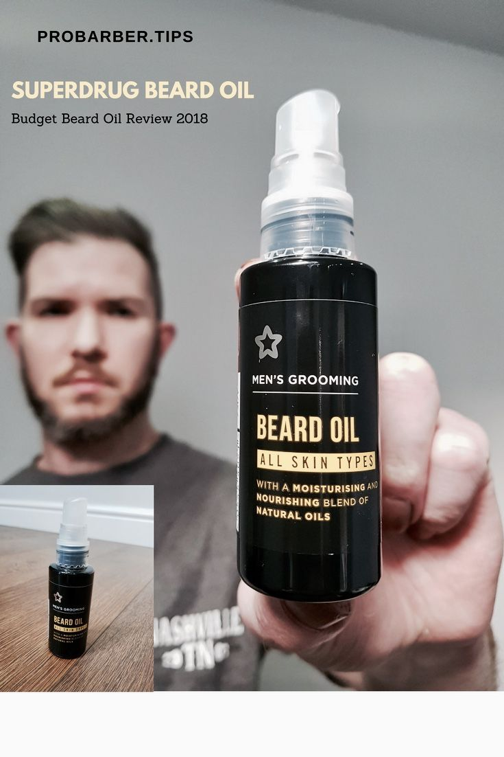 Superdrug Beard Oil Review: Whats The Best Beard Oil On A