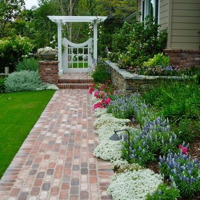 country cottage decorating ideas   Country Cottage Landscape Design,   Outdoor Ideas, Pools, Porches & S ...