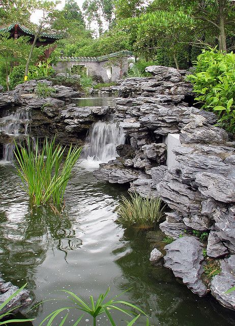 Lingnan Garden, Lai Chi Kok Park, Hong Kong