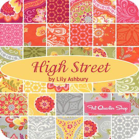 High Street Jelly Roll Lily Ashbury for Moda Fabrics