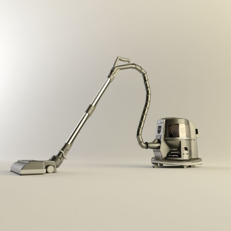 3D Max Rainbow Vacuum Cleaner - 3D Model
