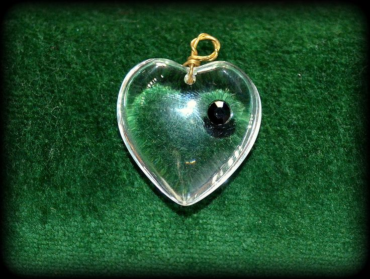 1950s Vintage Natural Rock Crystal Pendant - Rock Crystal Quartz heart shape pendant - Mid Century jewelry by CatsAndHatsVintage on Etsy