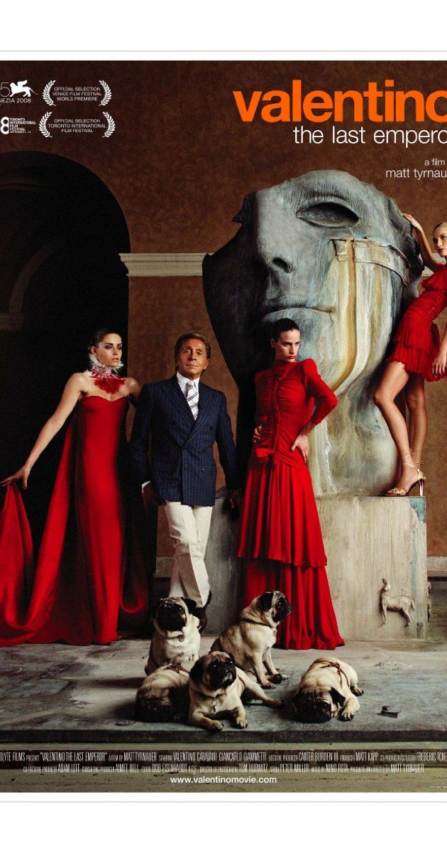 Directed by Matt Tyrnauer.  With Valentino Garavani, Giancarlo Giammetti, Nati Abascal, Giorgio Armani. A look at the life of legendary fashion designer Valentino.