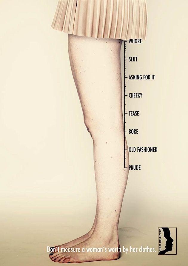 Es ist gesellschaftlich irgendwie so festgehämmert, dass man Menschen nach dem beurteilt, was sie tragen. Kleider machen ja angeblich Leute. Dass das nicht immer stimmt, ändert nichts daran, dass wir doch immer wieder unser jahrelang geschultes Beurteilung