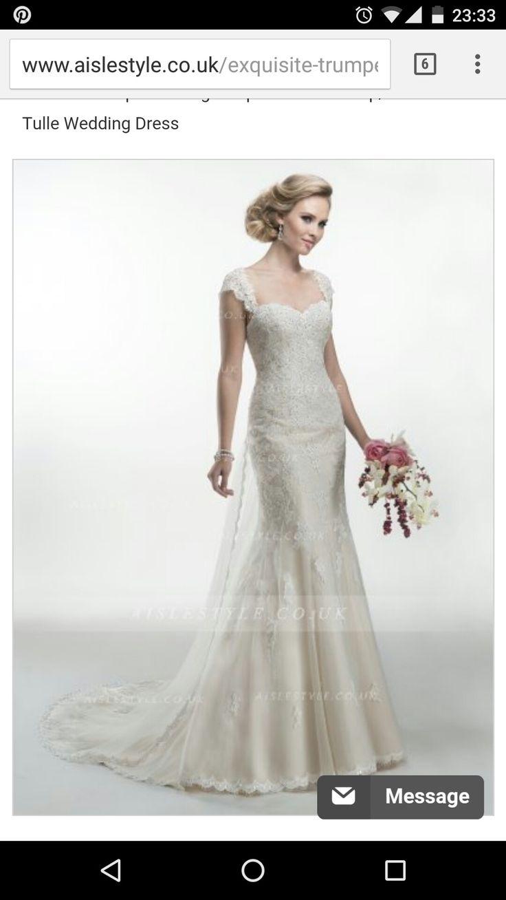 30 best VESTIDO NOVIA ANA images on Pinterest   Wedding frocks ...