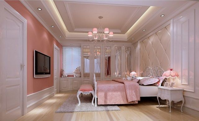 Most Beautifull Deco Paint Complete Bed Set: Luxury Pink Bedroom