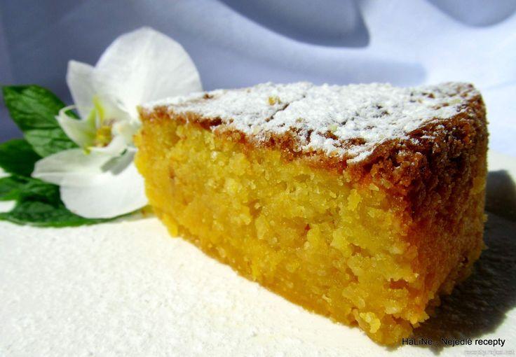 Nejedlé recepty: Citronovomandlový bezlepkový dort Caprese
