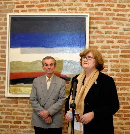 """Vernisaj Vasile Pop Negreşteanu, """"Semne din lada de zestre"""" – Muzeul Naţional Cotroceni   http://artportfolio.ro"""