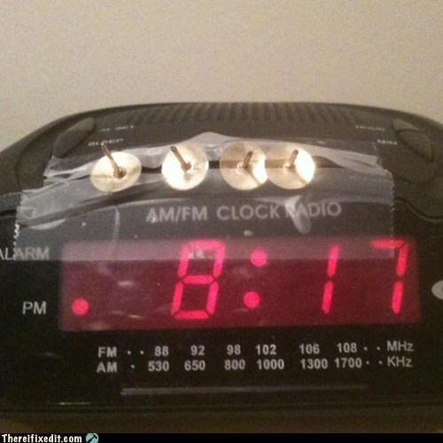 Don't hit the snooze, don't hit the snooze...