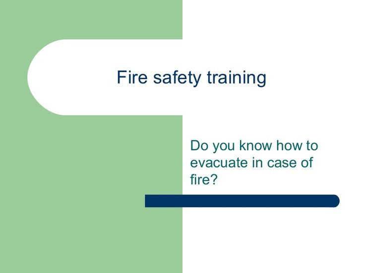 01. fire safety training (2) by Nerguieee via slideshare