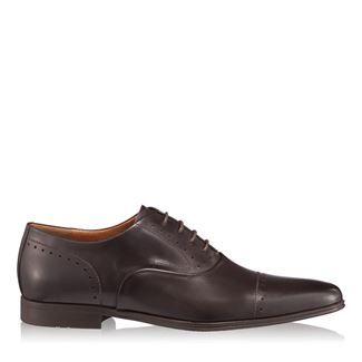 Pantofi barbati maro 2877 piele naturala