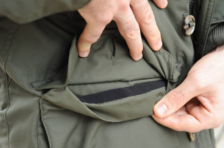 Parka Homme / doudoune Museum homme intérieur poche manteau homme hiver