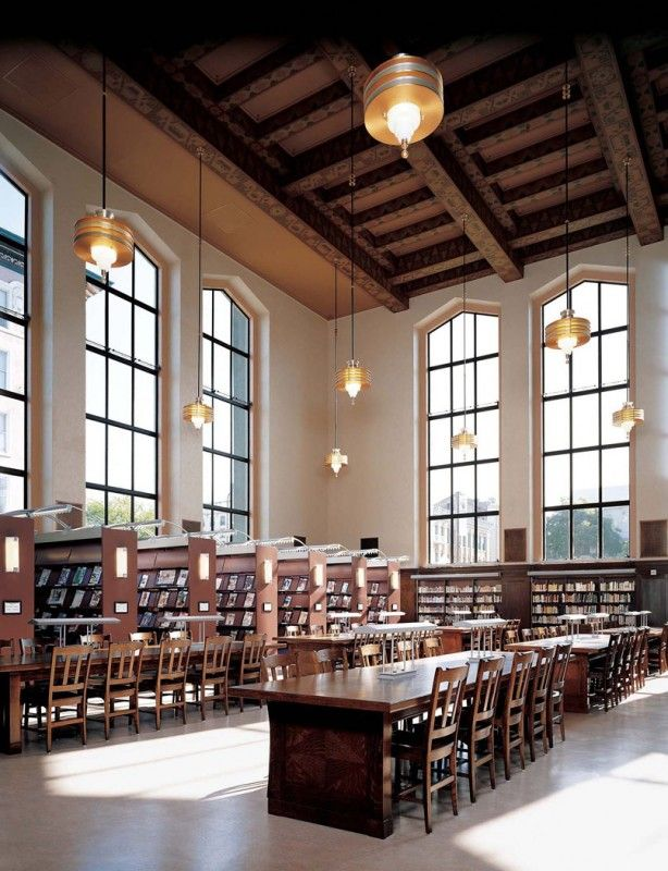 Libraries we love: Berkeley Public Library. California.