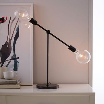 Mobile Table Lamp #westelm