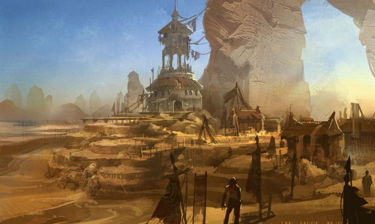arabian marketplace concept art - Google Search