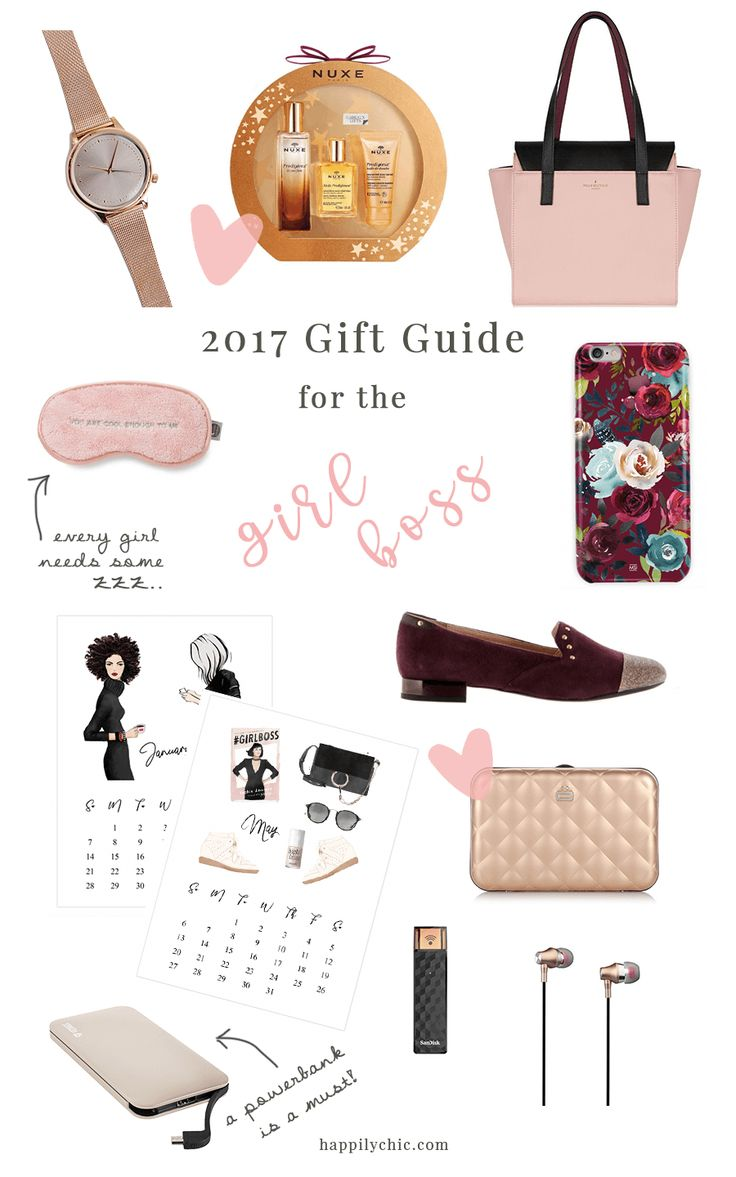It's mid-December, time for shopping for gifts! To help you with your shopping, these are the best gifts for the lady boss in your life. Or you!