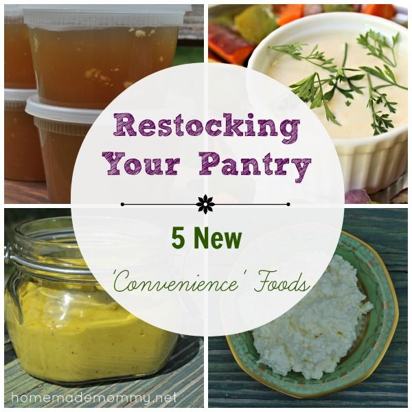 5 New 'Convenience Foods' | www.homemademommy.net #article #fermentedfoods