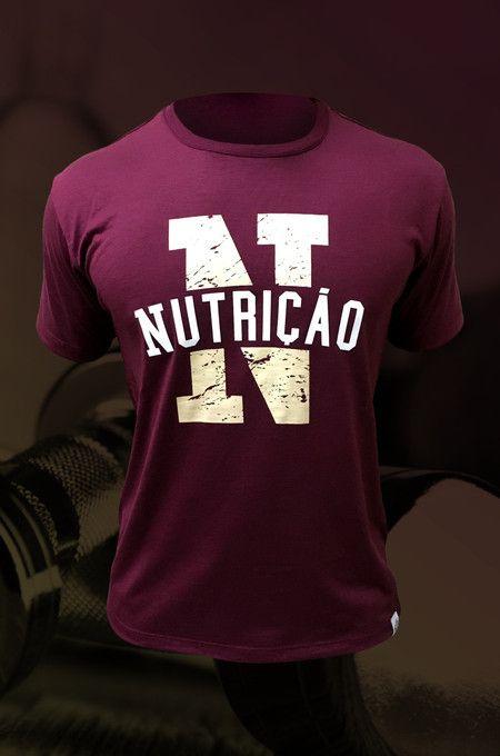 6bf53fe3fd Camiseta de Nutrição