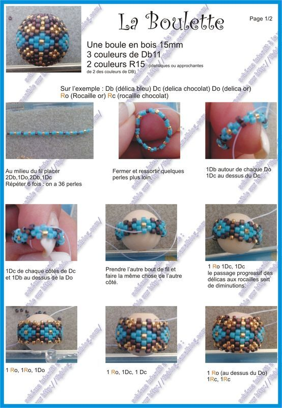 free beaded bead pattern