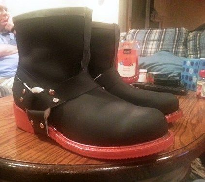 Edward Elric boots tutorial