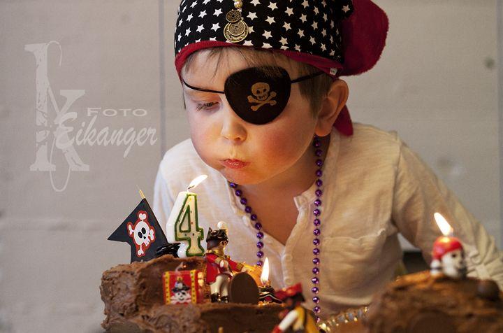 4-year old pirate boy