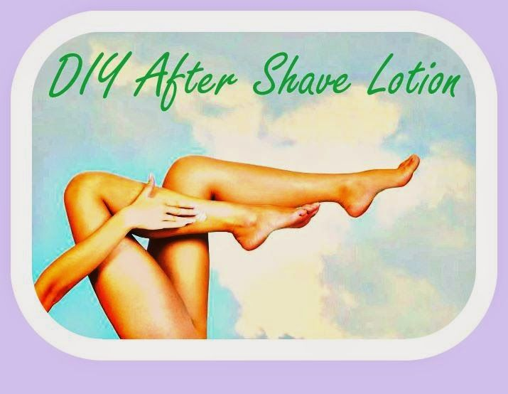DIY AFTER SHAVE LOTION