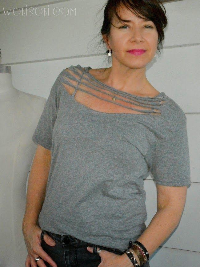 Necklace Tee Shirt, DIY