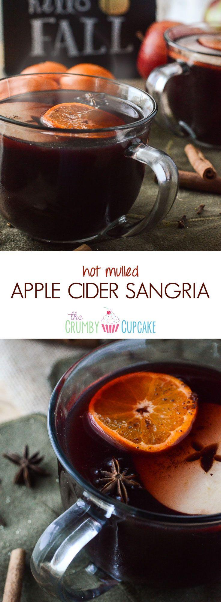 hot mulled apple cider sangria hot mulled apple cider sangria it s the ...