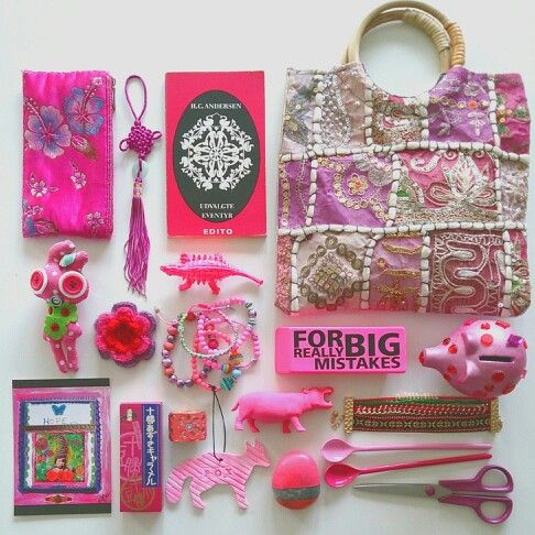 Pink moodboard