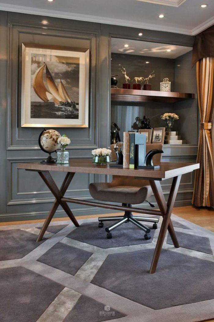 Les 25 meilleures id es concernant tapis gris sur for Moquette art deco