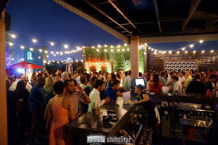 Proof Bar Houston Rooftop Lounge  Venue  Christmas