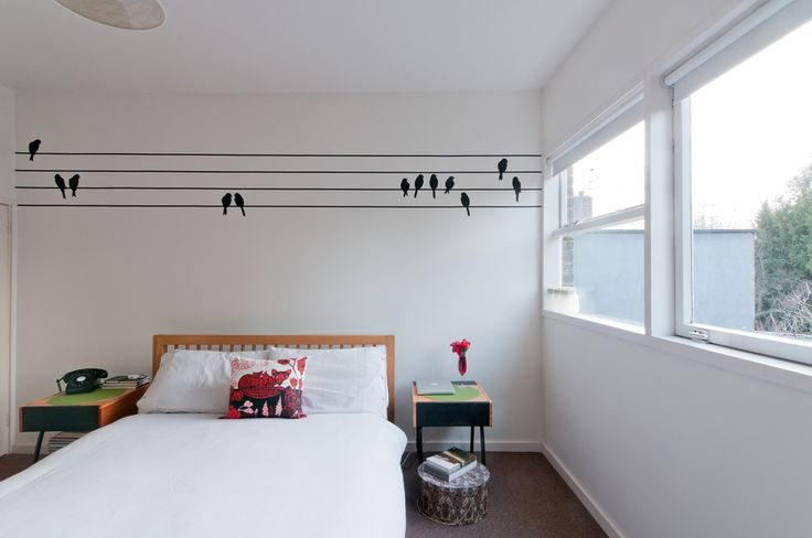 The Priory, Blackheath : Modern bedroom by CARL TRENFIELD ARCHITECTS https://www.homify.co.uk/ideabooks/23899/petite-apartment-refurbishment-london