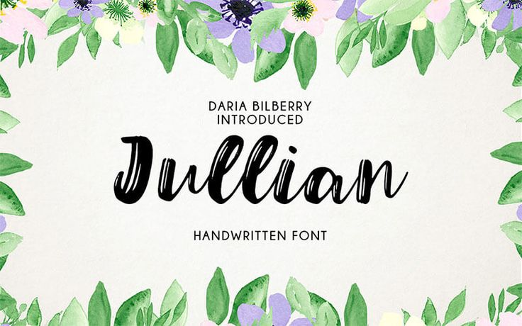 julian-script-typeface