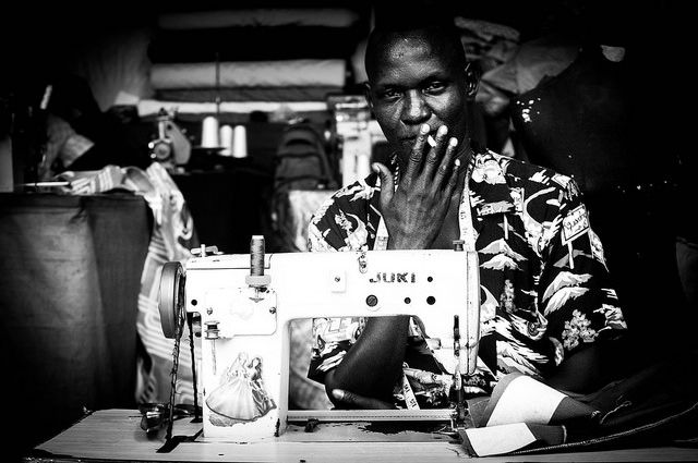 juba's funkiest tailor south sudan 2014