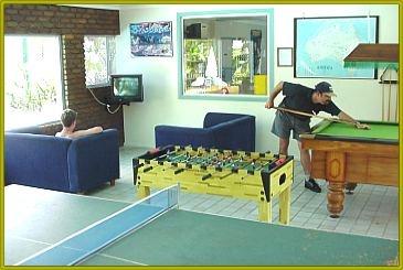 Games Room at BIG4 Brisbane Northside Holiday Park
