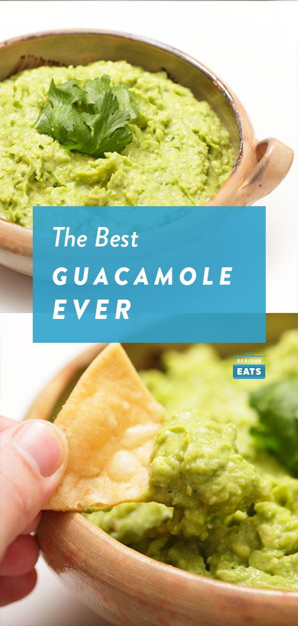 The Best Basic Guacamole Recipe Guacamole Recipe Guacamole Food Recipes