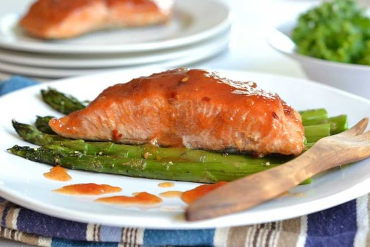 Sweet and Sour Salmon.