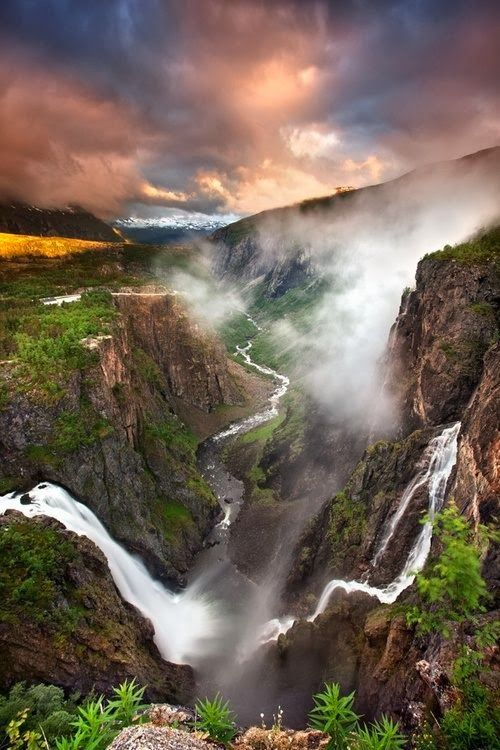 Favorite Photoz: Voringfossen Waterfall, Norway