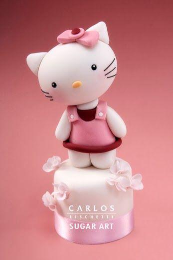 Hello Kitty - Sugar art