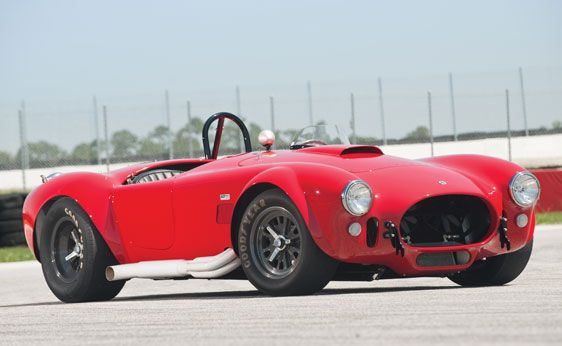 1965 Shelby 427 Competition Cobra to be offered by RM Auctions a their Monterey Auction in August.